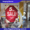 Vivid Color Promotional Custom Hanging Advertising Banner