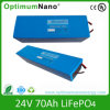 24V 70ah LiFePO4/Lithium-Ion Battery for Marine Energy, Medical UPS