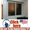 New Design PVC Plastic Reflected Glass Sliding Window