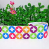"7/8"" Star Grosgrain Ribbon, Printed Ribbon 50 Yards Fabric Tape"