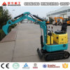 China Super Mini Crawler Excavator Farm Garden Track 0.8 Ton Excavator for Sale