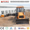 4X4 Compact Tractor with Loader and Backhoe