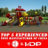 New Cheap Kindergarten Preschool Park for Children Outdoor Playground Slide