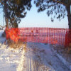 Orange Safety Fence for Ski Resort with High Quality