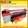 Jhf V08 3.2m Konica Head Solvent Outdoor Printer (512/1024 head, high quality)