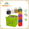 Insulated Lunch Picnic Non Woven Cooler Bag for 6 Can Beer Wine Bottle Pack and Frozen Food