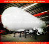 3 Axle LPG Transport Tank Trailer LPG Tank Semi Trailer
