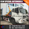 Middle Duty 8t 10t Hook Lift Container Garbage Truck