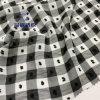 Ym2067 Polyester Fabric Checks Cut Flowers Silk Like Chiffon 96GSM