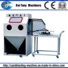 Manual Workcar and Turnable Small Mould Sandblasting Machine