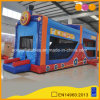 Big Smiling Face Obstacle Course Inflatable Bouncer Jumping House (AQ14224)