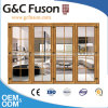 Aluminium Bi-Folding Metal Door for Balcony Use