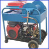 24HP High Pressure Sewer Drain Cleaning Machine Gasoline Drive