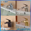 New Design Waterfall Bathroom Vessel Sink Mixer Faucet