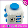 Hot Sale Fun Stress Reliever Anxiety Magic Fidget Cube with 6 Sides W01b050