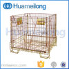 Galvanized Stacking Foldable Steel Pet Preform Container