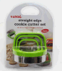 Hot Sale 3 Pieces Cookie Cutter Set