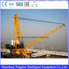 10t/5t Luffing Jib Top Building Crane/Derrick Crane/Lift Mast Section Roof Crane