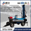 Cheap Price Small Trailer Type Percussion Drilling Rig with DTH Hammer