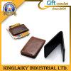Customized Leather Made Money Clip for Souvenir (KMC-001)