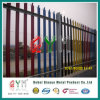 Security Galvanized PVC Coated Garden Iron Palisade Fence