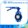Cast Iron Manual Operated Wafer Type Butterfly Valve