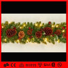 Indoor Christmas Decorations Glitter Flower LED Garland String Light