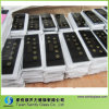5mm Flat Toughene Clear Float Glass Panel for Ice Machine with Black Printing