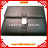 Premium Airline Seatbelt Buckle Leather Note Book (EDB-13040201)