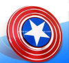 2017 Captain America EDC Hand Spinner Creative Hand Spinner Fidget Cube Metal Fidget Spinner for Autism