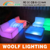 Rotating Plastic LED Lighting Bedroom Furniture
