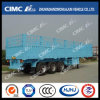 Cimc Huajun Stake/Cargo Semi Trailer with Blue Painting