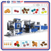 Automatic Hard Candy Depositing Line with PLC Control