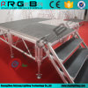 Aluminum Folding Event Show Exhibition Waterproof Stair Stage