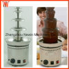 4 Tier 340 Stainless Steel Commercial Chocolate Fountain