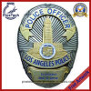 High Quality Police Officer Badge With2-Tone Plating
