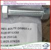 Zinc Plate Fasteners Carbon Steel DIN933 Hex Bolt