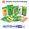 Stand up Glossy Ziplock Tea Packaging Bag with Customer Logo