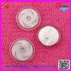 White Plastic Fashion Shank Buttons