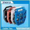 304 316 316L Stainless Steel Banding Strap Disc Ties in Plastic Dispenser