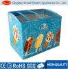 Chiller Refrigerator Cooler Ice Cream Display Freezer