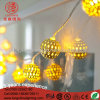 LED Warm White 100LEDs Ball String Light for Holiday Outdoor Decoration
