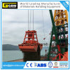 Shipcrane Bulk Powder Remote Control Grab Clamshell 12 M3 Without Leakage