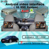 Car GPS Upgrade Android System Video Interface Navigation Box for Audi A8/A4l/A6l