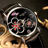 352 Wholesale Beautiful Women Watch with Flower Design Custom Your Own Logo