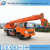 China Widely Used Pickup Truck Reasonable Price of Mobile Crane with Electric Motor