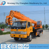 Professional Mini Telescopic Boom Hydraulic Crane with Strong Chassis