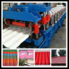 Hydraulic Motor PLC Control Glazed Tile Roll Forming Machine