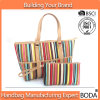 Promotional Canvas Beach Tote Handbag (BDX-161079)