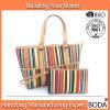Promotional Canvas Beach Tote Handbag (BDX-161079)